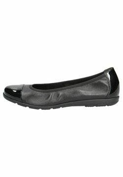 Caprice - Ballerinat - black comb