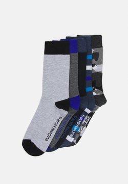 Björn Borg - SOLID ESSENTIAL 5 PACK - Socken - blue cobalt melange