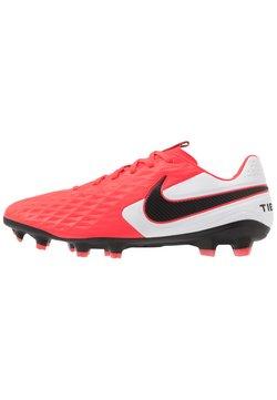 Nike Performance - TIEMPO LEGEND 8 PRO FG - Fotbollsskor fasta dobbar - laser crimson/black/white