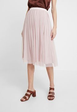 Lace & Beads - VAL SKIRT - A-Linien-Rock - dark pink