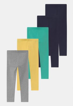 Friboo - 5 PACK - Legging - dark blue/turquoise
