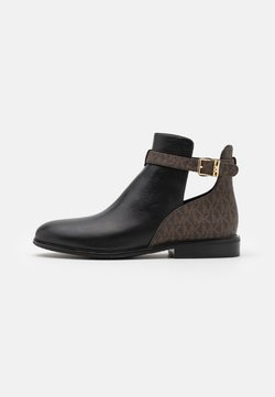 MICHAEL Michael Kors - LAWSON - Ankle boots - black/brown
