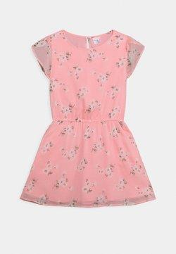 Abercrombie & Fitch - TULIP SLEEVE DRESS - Freizeitkleid - pink floral