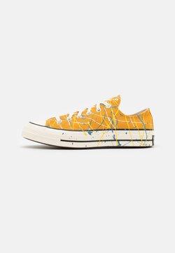 Converse - CHUCK 70 ARCHIVE PAINT SPLATTER PRINT UNISEX - Sneakers basse - sunflower gold/egret/aegean storm