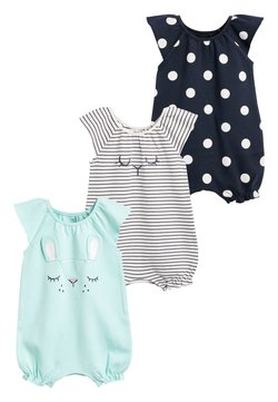 Next - MINT 3 PACK CHARACTER ROMPERS (0MTHS-3YRS) - Jumpsuit - blue