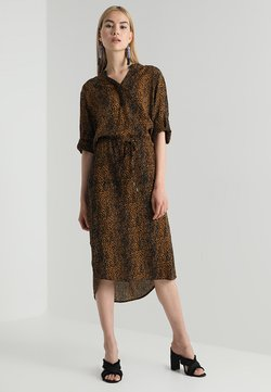 Soaked in Luxury - ZAYA DRESS - Freizeitkleid - brown