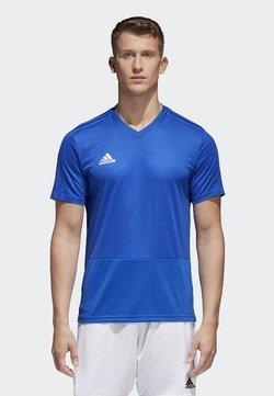 adidas Performance - CONDIVO 18 TRAINING JERSEY - T-paita - bold blue/white