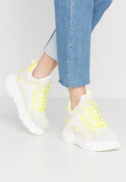 Buffalo - CHAI - Sneakers laag - white/neon yellow