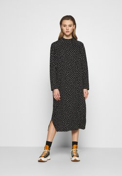 Monki - PIA DRESS - Freizeitkleid - black