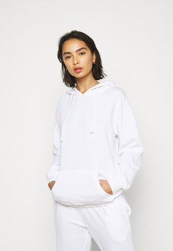 Missguided Petite - HOODIE AND JOGGER SET - Sweatshirt - white