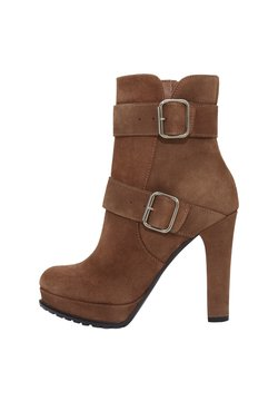 PoiLei - NOEMI - High Heel Stiefelette - brown