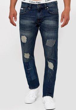 INDICODE JEANS - MCINTYRE - Straight leg jeans - blue
