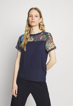Desigual - VIENA - T-Shirt print - blue