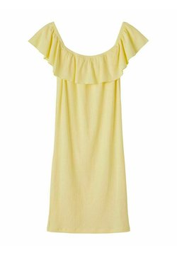 LMTD - OFF-SHOULDER - Jerseykleid - mellow yellow