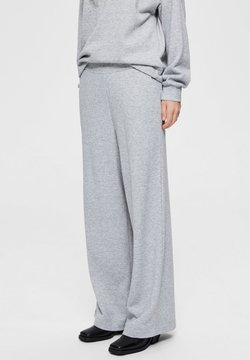 Selected Femme - SLFNINNA - Jogginghose - grey melange