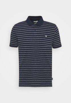Wrangler - STRIPE - Poloshirt - navy