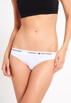 Tommy Hilfiger - THONG ICONIC - String - white