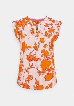 Emily van den Bergh - T-Shirt print - orange/rose