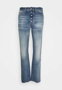 MM6 Maison Margiela - Straight leg jeans - mottled dark grey