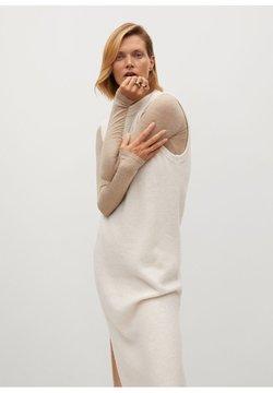 Mango - TOMMY - Gebreide jurk - béžová