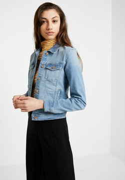 ONLY - ONLTIA JACKET - Veste en jean - light blue denim