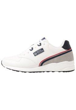 sergio tacchini - HIVORY - Sneaker low - white/navy/red