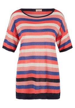 Triangle - MIT GLITZER-EFFEKT - T-Shirt print - blue stripes