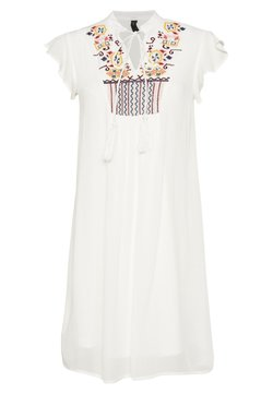 YAS - YASCILLA DRESS FEST - Korte jurk - star white