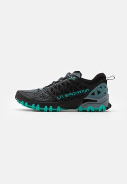 La Sportiva - BUSHIDO II WOMAN - Zapatillas de trail running - slate/aqua