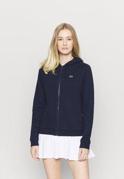 Lacoste Sport - veste en sweat zippée - navy blue