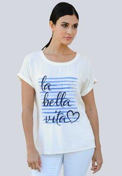 Alba Moda - T-Shirt print - off-white,blau,marineblau