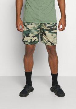 Nike Performance - DRY SHORT CAMO - Pantalón corto de deporte - sequoia/black