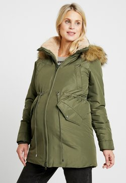 LOVE2WAIT - DOUBLE ZIPPER PADDED PIPING - Winterjas - green
