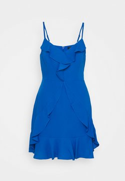 BCBGMAXAZRIA - EVE SHORT DRESS - Juhlamekko - larkspur blue