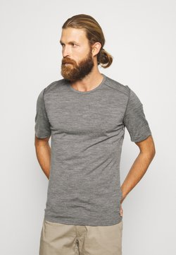 Icebreaker - Camiseta interior - gritstone heather