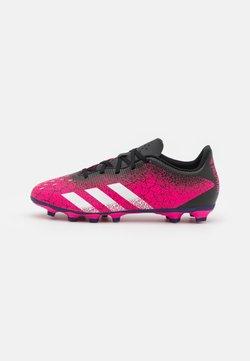 adidas Performance - PREDATOR FREAK .4 FXG - Botas de fútbol con tacos - shock pink/footwear white/core black