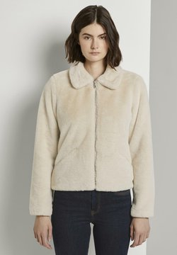 TOM TAILOR DENIM - Winterjacke - dusty beige