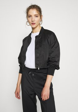 ONLY - ONLJACKIE CROPPED JACKET  - Giubbotto Bomber - black