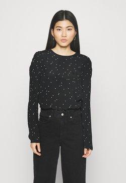 Marks & Spencer London - SPOT PUFF - Bluse - black