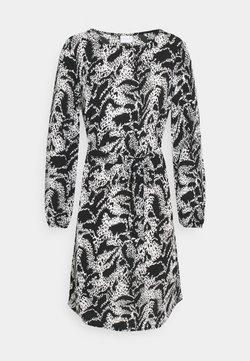 Vila - VIDIANA LUCY DRESS - Freizeitkleid - black/white
