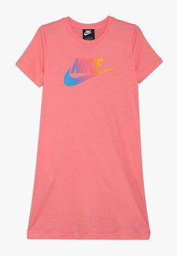 Nike Sportswear - DRESS FUTURA - Jerseykleid - pink gaze