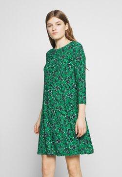 Lauren Ralph Lauren - PRINTED MATTE DRESS - Sukienka letnia - malachite/navy