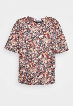 Études - POWDER  - T-Shirt print - liberty red
