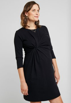 Esprit Maternity - DRESS 3/4 SLEEVE - Jerseyjurk - black