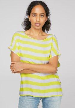 Soccx - MIT STREIFENMUSTER - T-Shirt print - citrus
