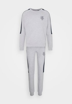Brave Soul - ALSTON SET - Sweatshirt - grey