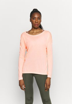 Nike Performance - DRY LAYER  - Camiseta de deporte - arctic orange/orange pearl