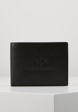 Armani Exchange - TRIFOLD - Lompakko - black