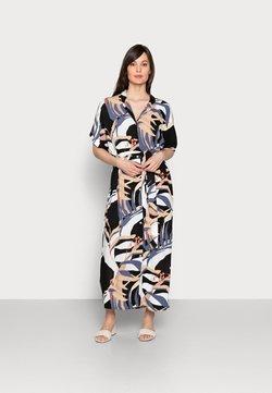 mine to five TOM TAILOR - DRESS KAFTAN MAXI PRINTED - Maxikleid - sand blue palms design