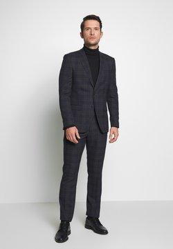 Ben Sherman Tailoring - OVERCHECK SUIT SLIM FIT - Anzug - navy